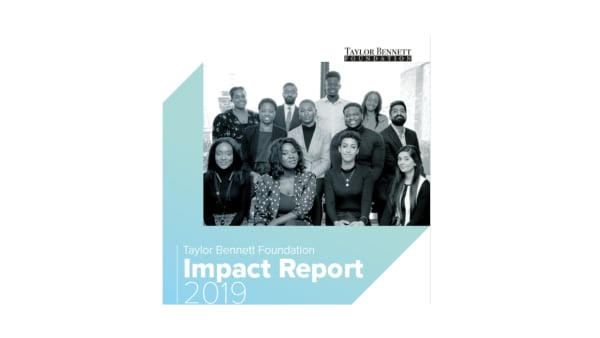 Taylor Bennett Foundation - 2019 Impact Report
